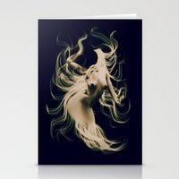 goddess Stationery Cards featuring Goddess  by    Amy Anderson