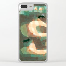 The Barbed Noose with the Mice by Paul Klee, 1923 Clear iPhone Case