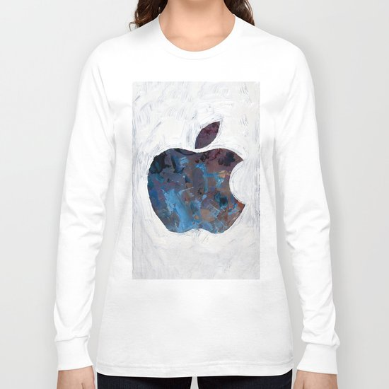 Painted Apple Long Sleeve T-shirt