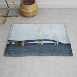 Mackinac Bridge Rug