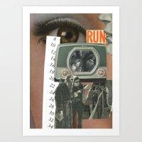 run Art Prints featuring Run....... by Michael Harford