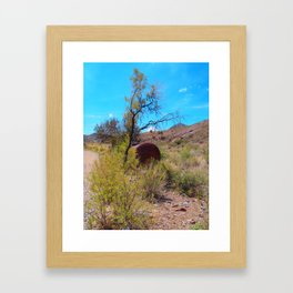 Hike Framed Art Print