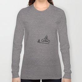 kart cart driver racing car Motor sport Long Sleeve T-shirt