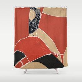 Good Night Japan Shower Curtain