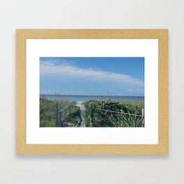 """"""" Taking it All In""""  Framed Art Print"""
