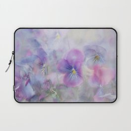 little pansies Laptop Sleeve