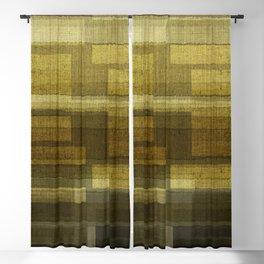 """Burlap Texture Greenery Shades"" Blackout Curtain"