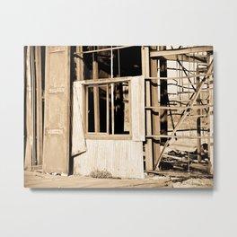 Tearing down walls. Metal Print