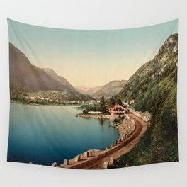 Dalen, Telemarken  Norway 1890 Wall Tapestry