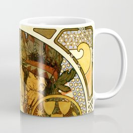 "Alphonse Mucha ""World's Fair, St. Louis, Missouri"", 1904 Coffee Mug"