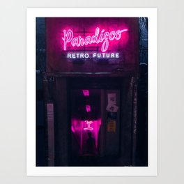 Paradise Disco Art Print
