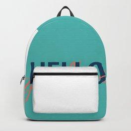 HELLO goodbye Backpack