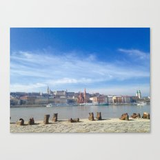 Shoes on the Danube Canvas Print