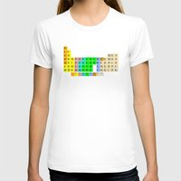 bible T-shirts featuring PERIODIC BIBLE by MR TEE