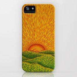 Never Set iPhone Case