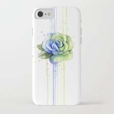 Flower Rose Watercolor Painting 12th Man Art Slim Case iPhone 7