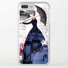 THE COVENANTER'S WIDOW Clear iPhone Case