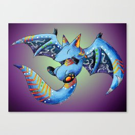 Nocturnal Trickster Canvas Print