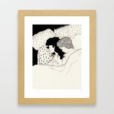Fake Shelter Framed Art Print