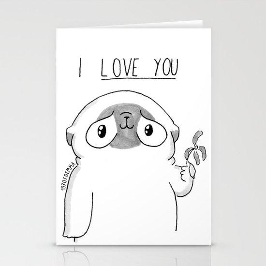 PUG Mochi - I love you by 157ofgemma