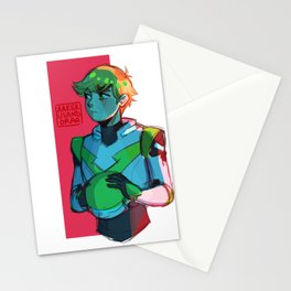 Green Adrien Stationery Cards