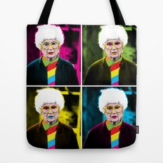 Sophia x 4 by @ruralmodernist Tote Bag
