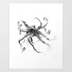 Star Octopus Art Print