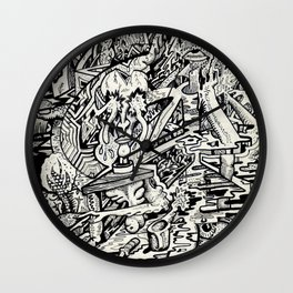 The Adept, or, a Freakish Transfiguration Wall Clock