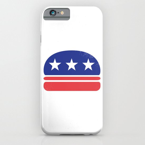 I Vote for Burger! iPhone & iPod Case