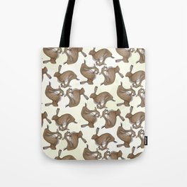 Three Hares Tote Bag