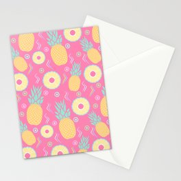 Pink Pinapple Stationery Cards