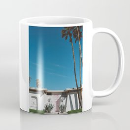 Palm Springs Pink Door Coffee Mug