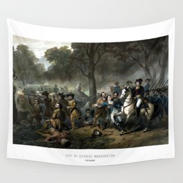 Life Of George Washington -- The Soldier Wall Tapestry