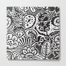 Shadow Garden (Wayang) Metal Print
