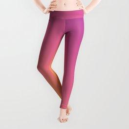 Yellow, Pink & Purple Ombre Pattern Leggings