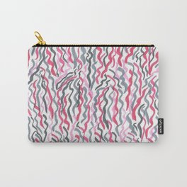 Red and Black Squiggles Carry-All Pouch