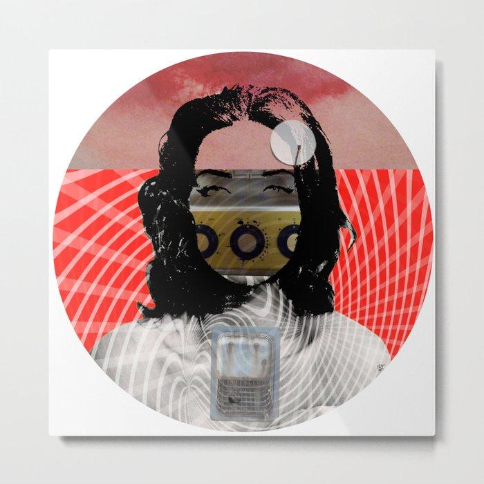 The Dream · Last Night · Crop Circle Metal Print