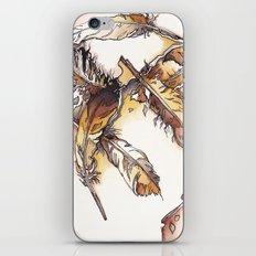 Chipewyan Feathers iPhone & iPod Skin