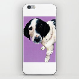 Charlie on lilac iPhone Skin