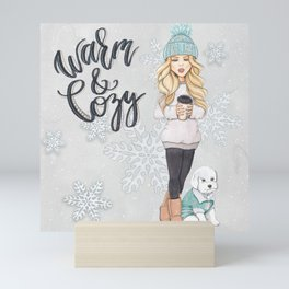 Warm and Cozy Mini Art Print