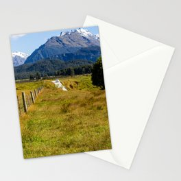Mountain Road- New Zealand Stationery Cards