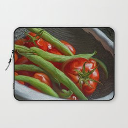Snap Peas and Tomatoes in Colander Laptop Sleeve