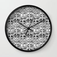 architecture Wall Clocks featuring Architecture  by Chelhsea Jefferson