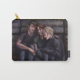 David, Reese and Amber. Carry-All Pouch