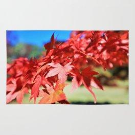 Japanese Maple Leaves 2 Rug