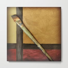 Artist Brush 2 Metal Print