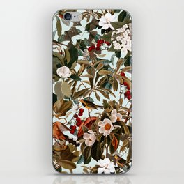 Floral and Birds XXVII iPhone Skin