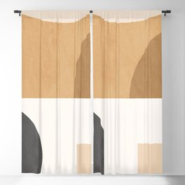 Geometric Abstract 106 Blackout Curtain