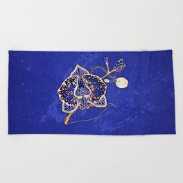 Egyptian Blue :: Orchid Beach Towel
