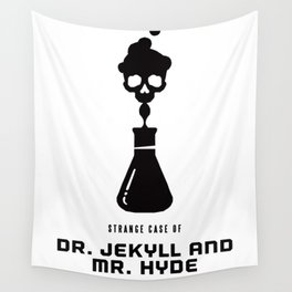 A Century of Horror Classics :: Strange Case of Dr. Jekyll & Mr. Hyde Wall Tapestry